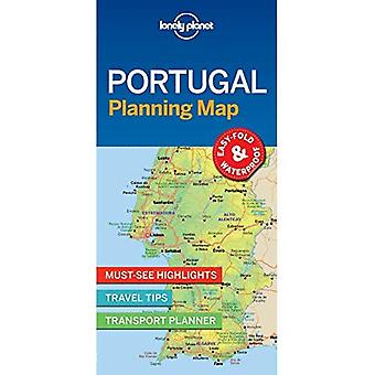 Lonely Planet Portugal planification carte