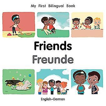 Mijn eerste tweetalige boek-Friends (Engels-Duits) (mijn eerste tweetalige boek) [Board boek]