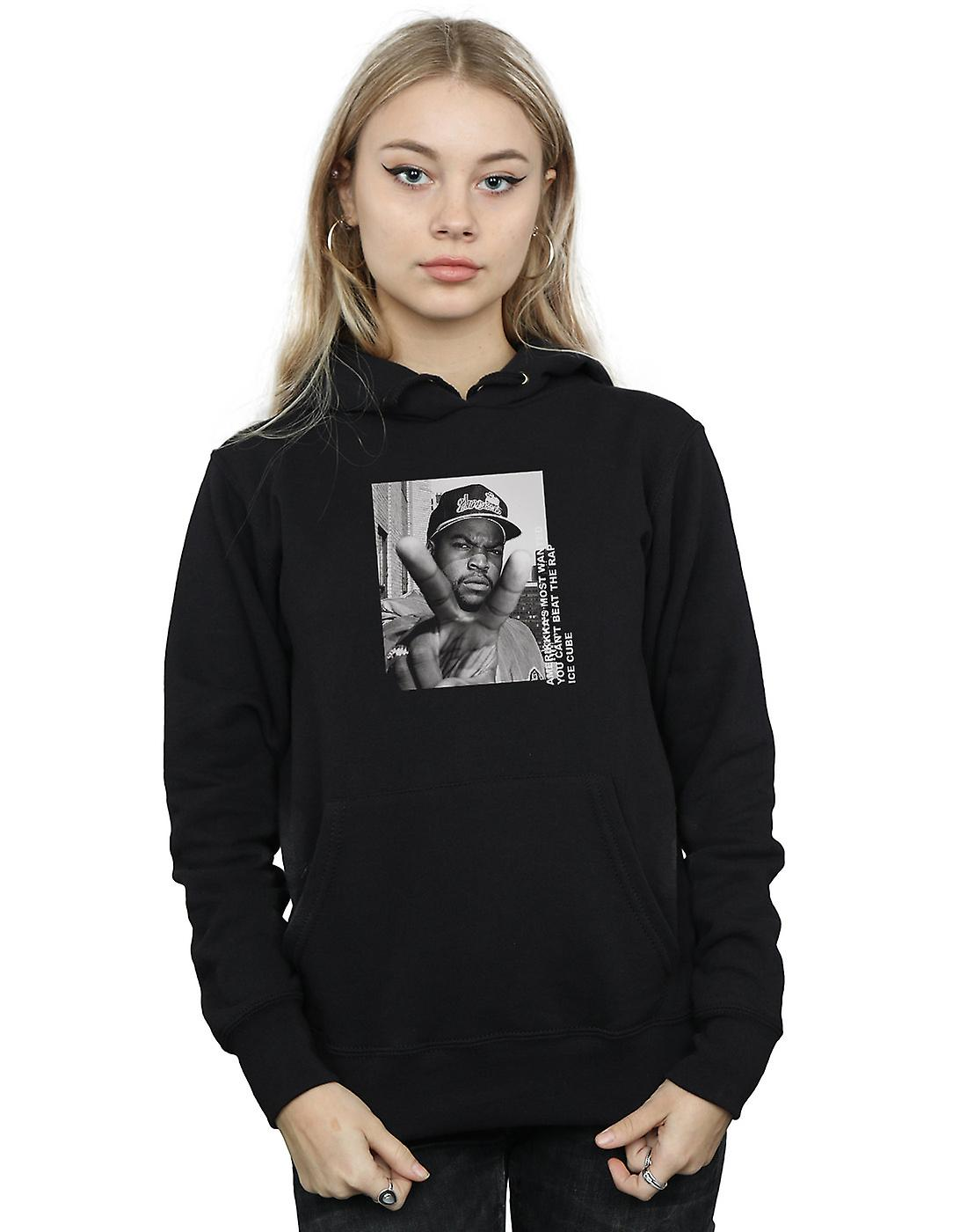 Ice Cube Women's Peace Sign Hoodie