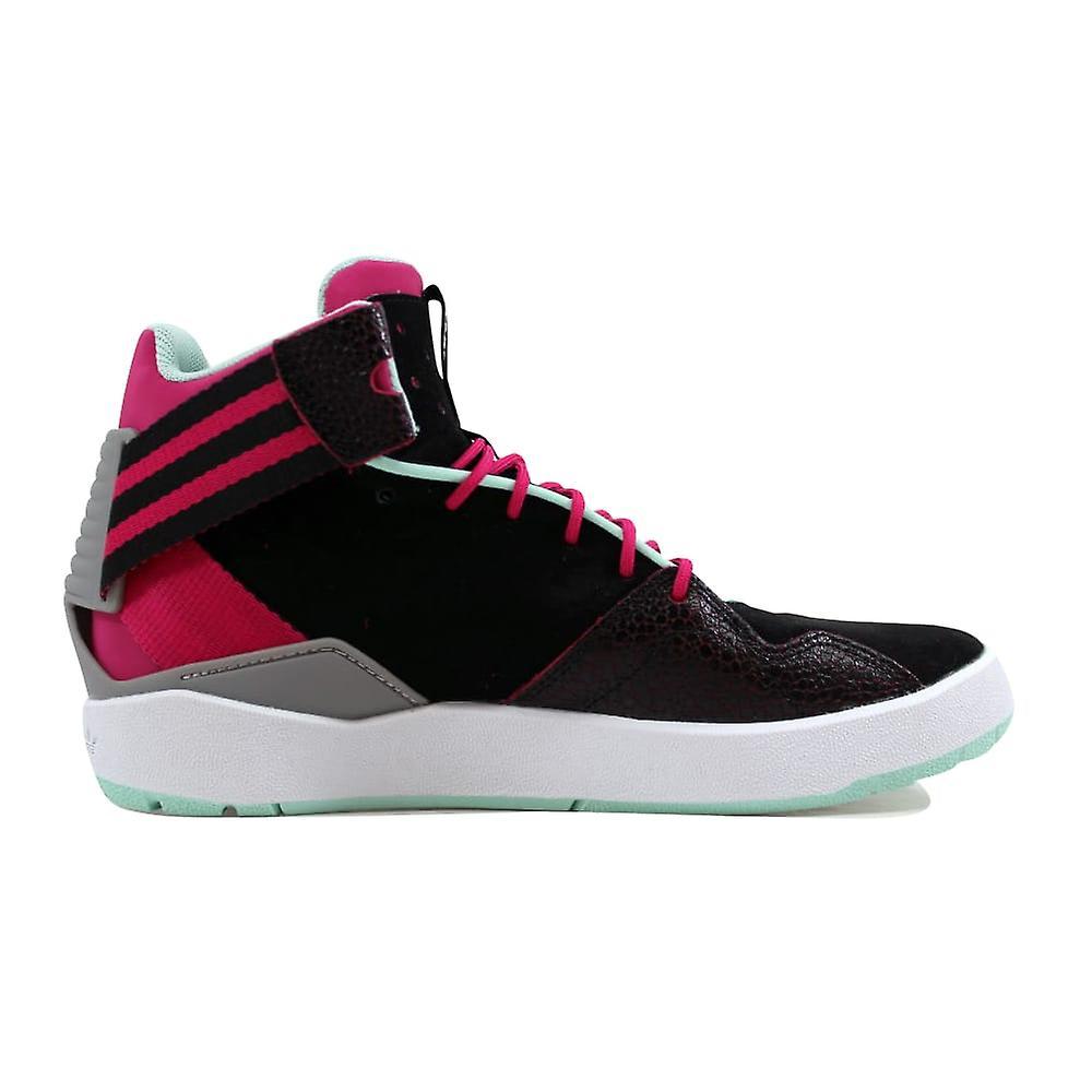 Adidas Crestwood Midt J Black/pink-green B27681 Klasse-skole