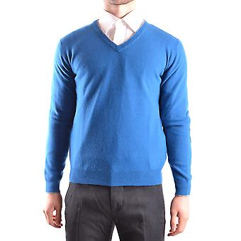 Altea Ezbc048048 Men's Blue Wool Sweater