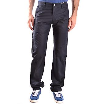 Aspesi Ezbc067042 Hombres's Pantalones de Algodón Azul