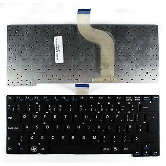 Sony VAIO SVT1311C4E Musta UK layout korvaaminen Laptop Keyboard