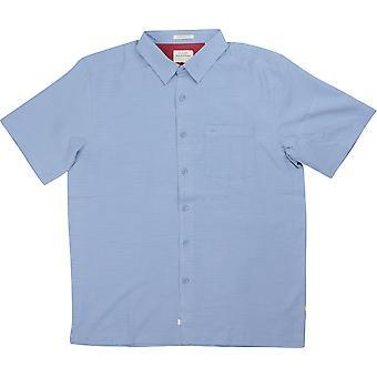 Quiksilver Waterman Kollektion Centinela 4 SS Herrenshirt - blauen Schatten