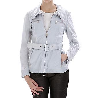 Geospirit Ezbc203001 Women's Grey Nylon Outerwear Jacket