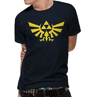 Men's The Legend of Zelda Hyrule Logo Navy T-Shirt