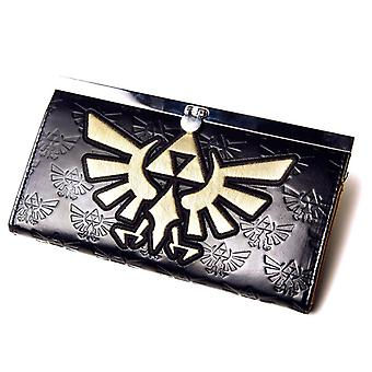 Women's Nintendo Zelda Embossed Tri-Force Design Clutch Purse