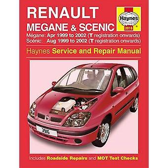 Renault Megane & Scenic Service and Repair Manual - 9781785210051 Book