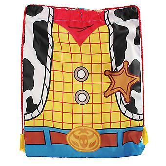 Toy Story Woody Torso Drawstring Gym Bag 40cm x 30cm