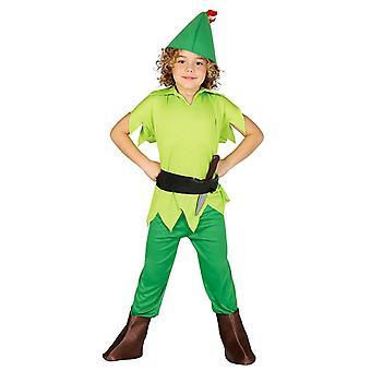 Pojat Archer Peter Pan fancy mekko puku