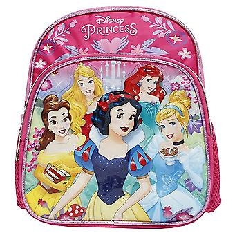 Mini Backpack - Disney - Princess Group-5 Pink/Silver 10