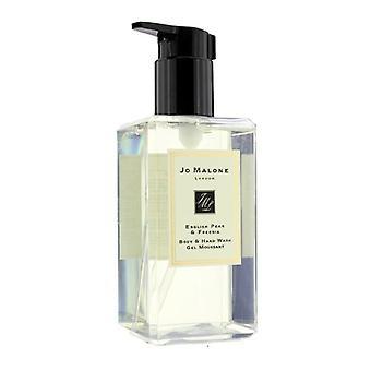 Jo Malone English Pear & Freesia Body & Hand Wash (with Pump) - 250ml/8.5oz