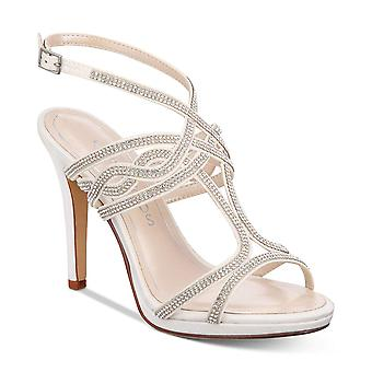 Caparros Womens Heather Open Toe Bridal Slingback Sandals