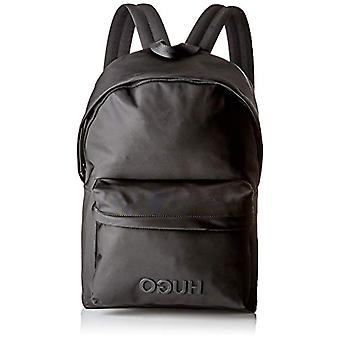 HUGO Record_backpack - Men's backpacks - Black (Black) - 16x44x30 cm (B x H T)