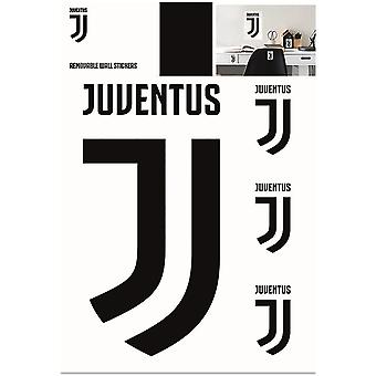 Juventus FC Official Wall Stickers (Pack Of 4)