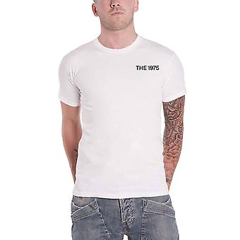 The 1975 T Shirt A Brief enquiry Side Face Time Band Logo Official Mens White