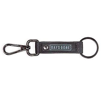 Days Gone Keyring Keychain Faux Leather Logo new Official Gamer Black