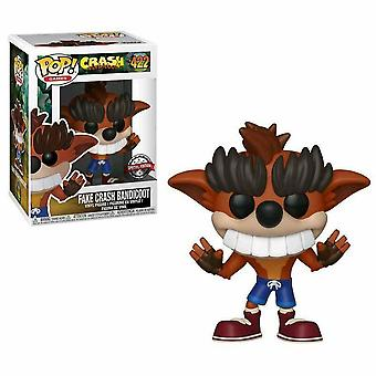Crash Bandicoot Fake Crash Bandicoot US Exclusive Pop! Vinyl