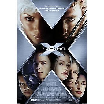 X-Men 2 X2 (Double Sided International Style C) Original Cinema Poster
