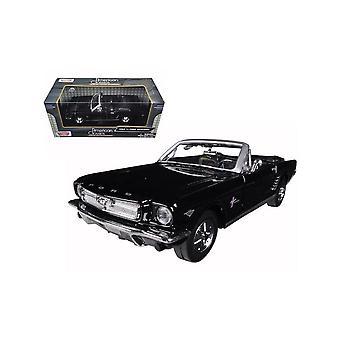 MotorMax American Classics  - 1964 1/2 Ford Mustang Black  1:24
