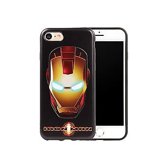 Iphone 6 + /6 s + Plus Avengers Soft Cover Case IronMan