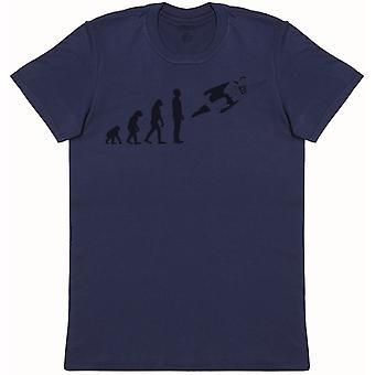 Evolution To Super Man - Mens T-Shirt