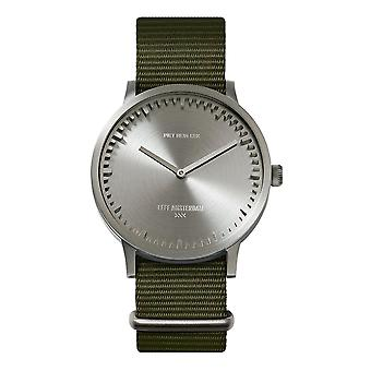 Leff Amsterdam LT75131 Green Nato T40 Steel Tube Wristwatch