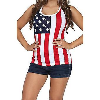 USA Bandera Tanque Top Damas