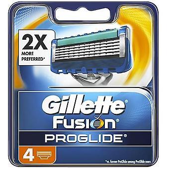 Gillette fusion proglide razor blades 4 refills