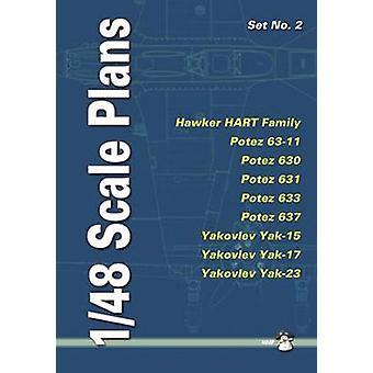 1/48 Scale Plans Set - No. 2 by Dariusz Karnas - 9788389450937 Book