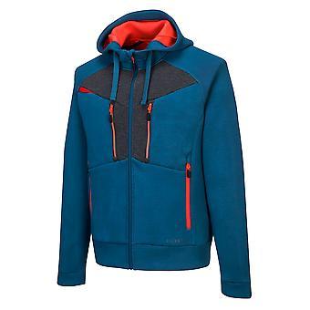 Portwest Herre 4 vejs stretch stof DX4 hoodie jakke med lynlås