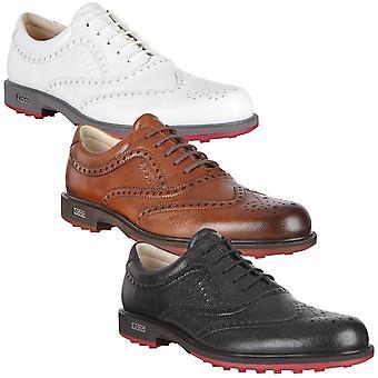 ECCO mens Hybrid Tour waterdichte lederen spikeless golf schoenen