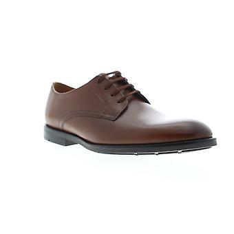 Clarks Ronnie Walk menns brune skinn kjole Lace up Oxfords sko