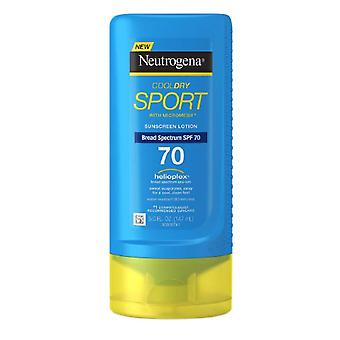 Neutrogena cooldry sport sunscreen lotion, spf 70, 5 oz