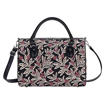 Golden fern luggage travel bag by signare tapestry / trav-gfern