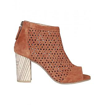 Pierre Cardin - shoes - ankle boots - HERMELINE_COGNAC - women - chocolate - 39
