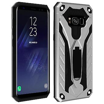 Samsung Galaxy S8 Hybrid Protection Case, Phantom Forcell, Silver