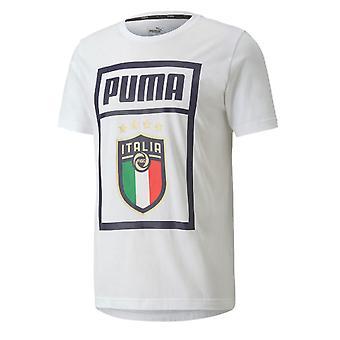 2019-2020 Italy Puma Graphic DNA Tee (White)