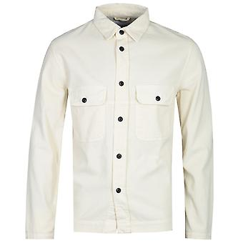 Chemise à manches longues Albam White Cord