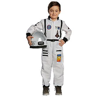 Enfants de l'astronaute jeune costume astronaute cosmonaute