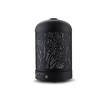 Aroma Diffuser LED Night Light Black Forrest Patroon 160ml