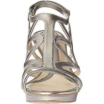 Naturalizer Womens Dayna tyg öppna tå formella ankel rem sandaler