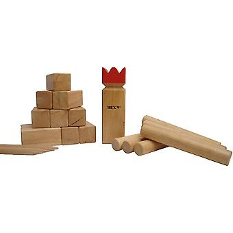 Bex Sport Kubb Pro Red King Outdoor Game