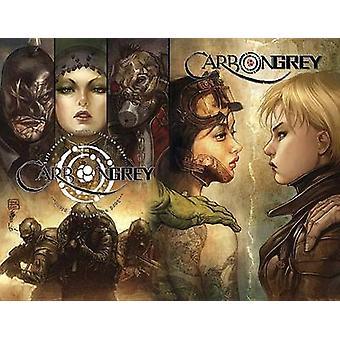 Carbon Grey Volume 3 Äidit vallankumouksen Hoang Nguyen & Paul Gardner & Taiteilija KinSun Loh & Taiteilija Khari Evans