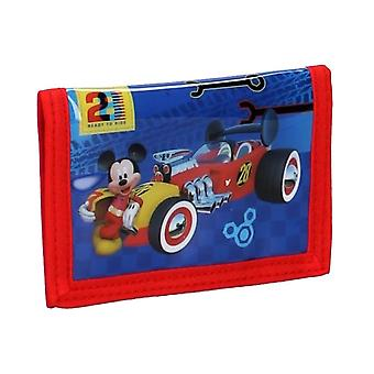 Kinder's Mickey Mouse Crazy Speed Bi-Fold Brieftasche