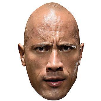 The Rock Dwayne Johnson WWE Wrestler Official Single 2D Card Party Fancy Dress Mask