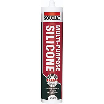 Soudal Multipropósito Silicona Blanco 270ml
