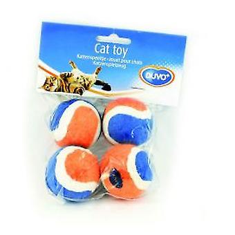 Duvo+ Mini Tennisbälle 4U. (Hunde , Spielzeug und Sport , Bälle)