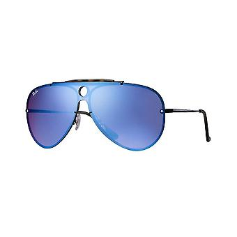 Ray Ban Sunglasses Rb3581n 153/7v Blaze Shooter Violet/blue Mirrored Sunglasses