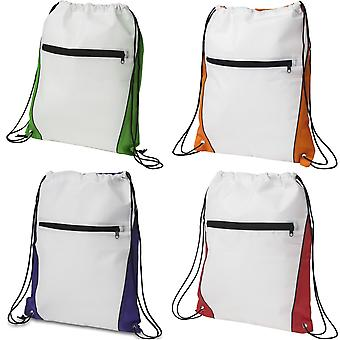 Bullet Contrast Non Woven Drawstring Backpack